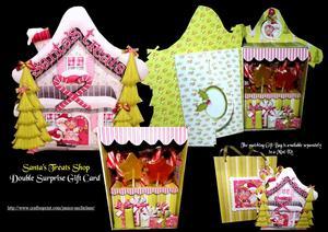 Santa's Treat Shop Surprise Card Kit