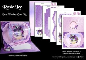 Rosie Lee Bow Window Card Kit