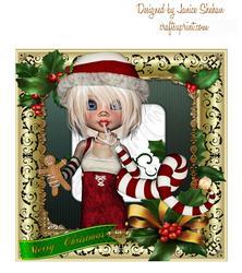 Santa's Christmas Cutie Elf