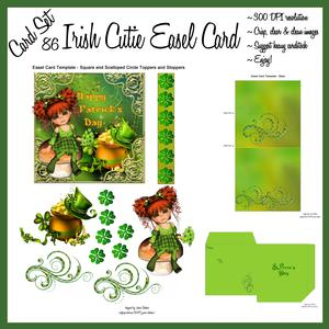 St. Patrick's Cutie Easel Card