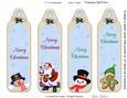 Christmas Bookmarks 3