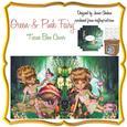 Pink & Green Faery Fairy Kleenex Tissue Box Cover