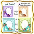 Heels & Lace Floral Frames 2