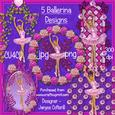 5 Ballerina Designs Cu4cu