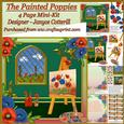 The Painted Poppies Mini-kit