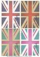 Vintage Union Flag (union Jack) Postcards