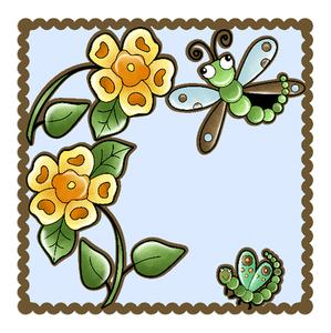 Dragonfly Topper & Aperture Card Studio