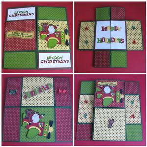 20cm Never Ending Santa Card Studio with Commercial Use
