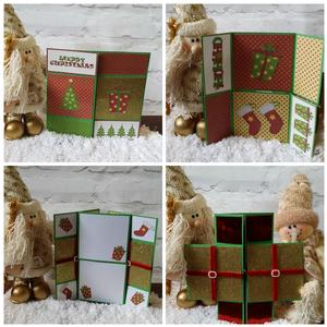 15cm Never Ending Christmas Card Studio with Commercial Use