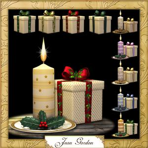 Cu Candles and Boxes