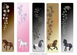 Horse Bookmarks