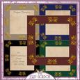 Cu Gold Embellishments Frames