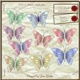 Cu 9 Pastel Butterflies