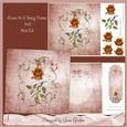 8x8 Roses in a Fancy Frame Mini Kit
