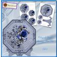 Octagonal Roses Pyramage Set 3