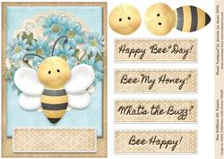 Bee Brilliant! A5 Topper