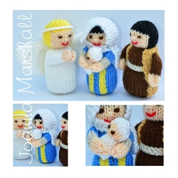 Angel Gabriel, Mary, Joseph and Baby Jesus