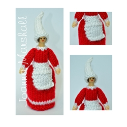 Learn How to Knit a Peg Doll