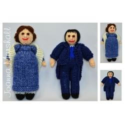 Doll Knitting Pattern - Jane Austen - Pride & Prejudice Doll