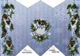 Diamond Fold Christmas Pinecones