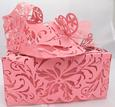 Lacy Baby Shoe & Box Cameo
