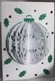 3D Holly Card Cameo