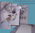 3 Panel Lilac Lilies Card