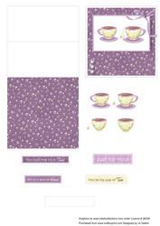 2 Cups of Tea Purple