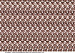 Fantasy Floral Background Brown2