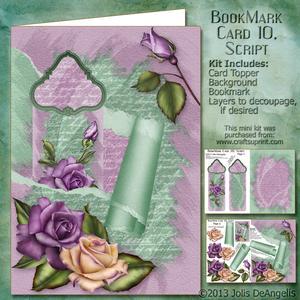 Bookmark Card 20, Script