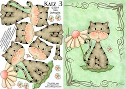 Katz 3, A5 Step by Step Card