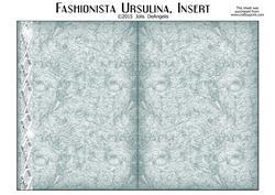 Fashionista Ursulina 9.75 x 6.75 Inch Insert