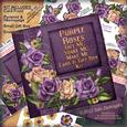 Purple Roses Gift Me, Shake Me, Make Me Card & Box Kit
