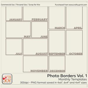 Photo Borders Vol. 1