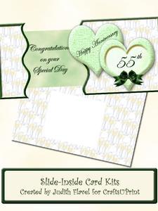 Slide-inside Anniversary - Emerald