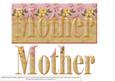 Floral Mother - Dl Card Front