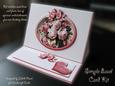 Old Fashioned Roses - Easy Easel Card Kit