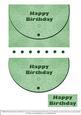 Mock Envelope - One for the Men - Green