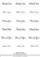 Thank You - Nesties Tags Black