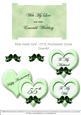 Inserts for Slide-inside Kit - Our Anniversary - Emerald