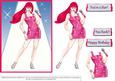 You Rock - Pink Hair Costume 1