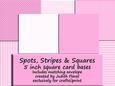 View Spots, Stripes & Squares - Pink Details