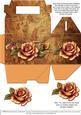 Gable-top Box - Autumn Roses