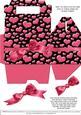Gable-top Box - Valentine Hearts 2