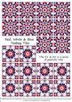 Red, White & Blue Tiles - Set 1