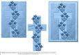 Sympathy Cross - Blue
