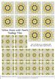 Yellow Roses and Pearls - Teabag Tiles Set 3