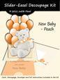 Slider-easel - Baby Peach