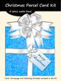 Christmas Parcel - Blue & White