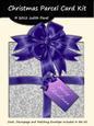 Christmas Parcel - Silver & Purple